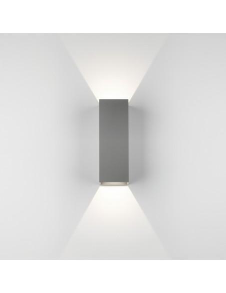 Applique Oslo 255 led argent vue de face astro lighting Valente design