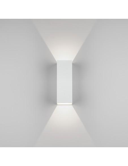 Applique Oslo 255 led blanc vue de face astro lighting Valente design
