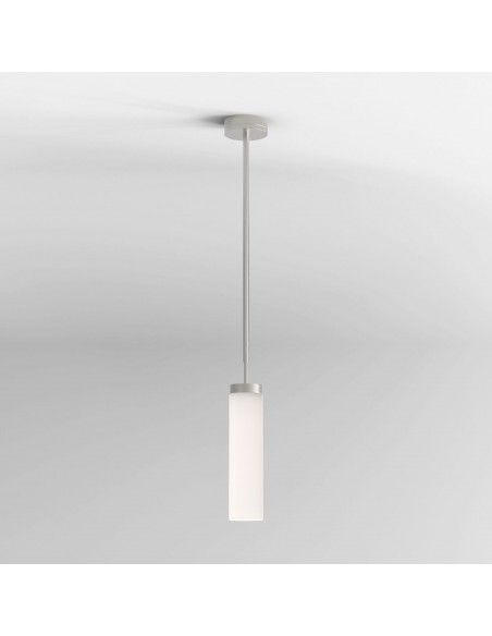 Suspension Kyoto LED pendant nickel mat Astro lighting - Valente Design