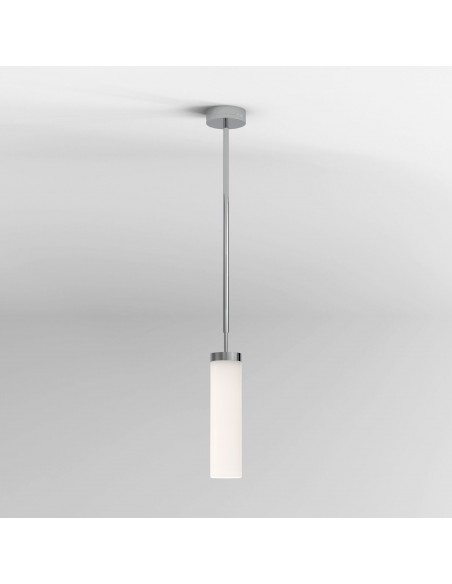 Suspension Kyoto LED pendant chrome poli Astro lighting - Valente Design