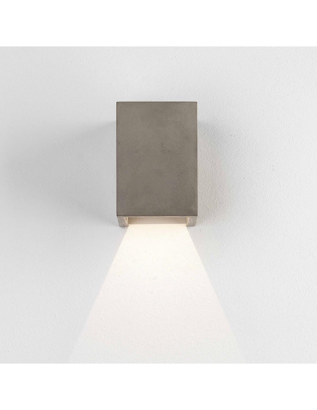 Applique Oslo 120 LED concrete Astro lighting - Valente Design