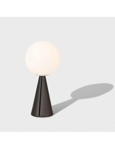 Mise en scène Lampe de table  Bilia Mini noir brillant fontana arte  Valente Design