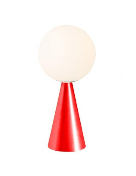 Lampe de table  Bilia Mini rouge fontana arte  Valente Design