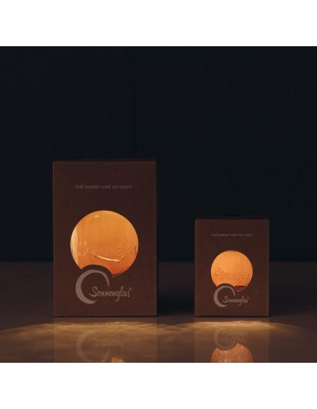 Emballage Lampes solaires sans fil SONNENGLAS® Classic et Mini allumées Valente Design