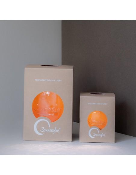 Emballage Lampes solaires sans fil SONNENGLAS® Classic et Mini éteintes Valente Design