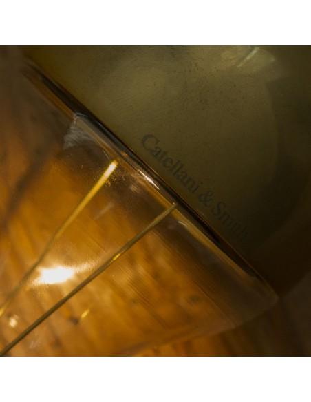 Lampe à poser Trenta Catellani and Smith Valente Design détail ampoule signée Catellani&Smith