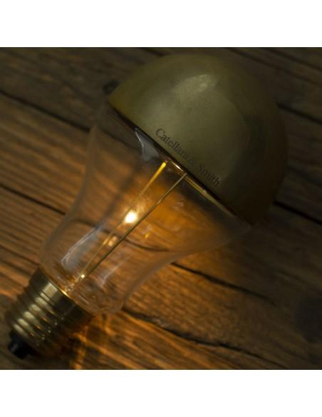 Lampe à poser Trenta Catellani and Smith Valente Design détail ampoule