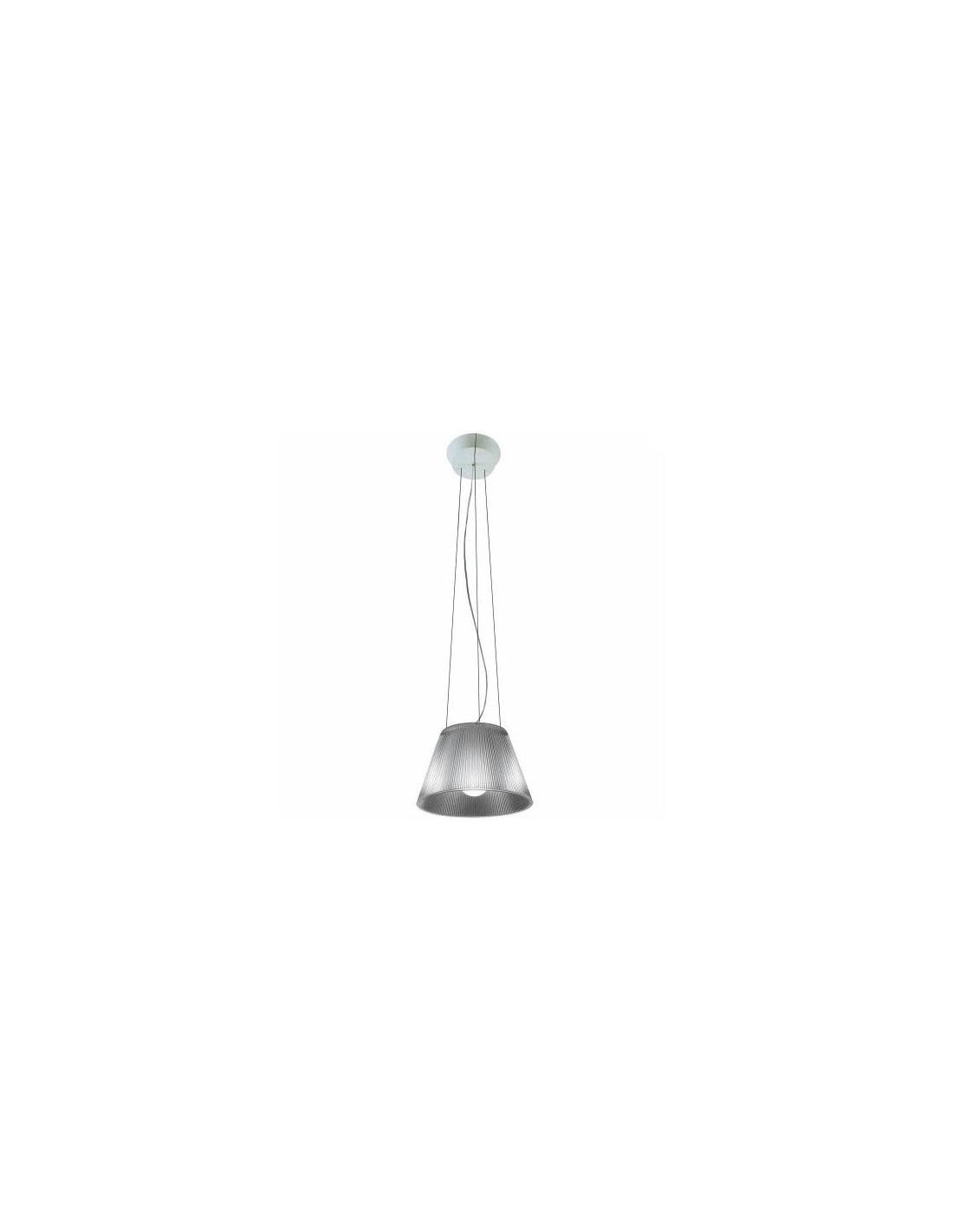 Suspension Romeo Moon S1 transparent par Philippe Starck pour la marque flos chez Valente Design