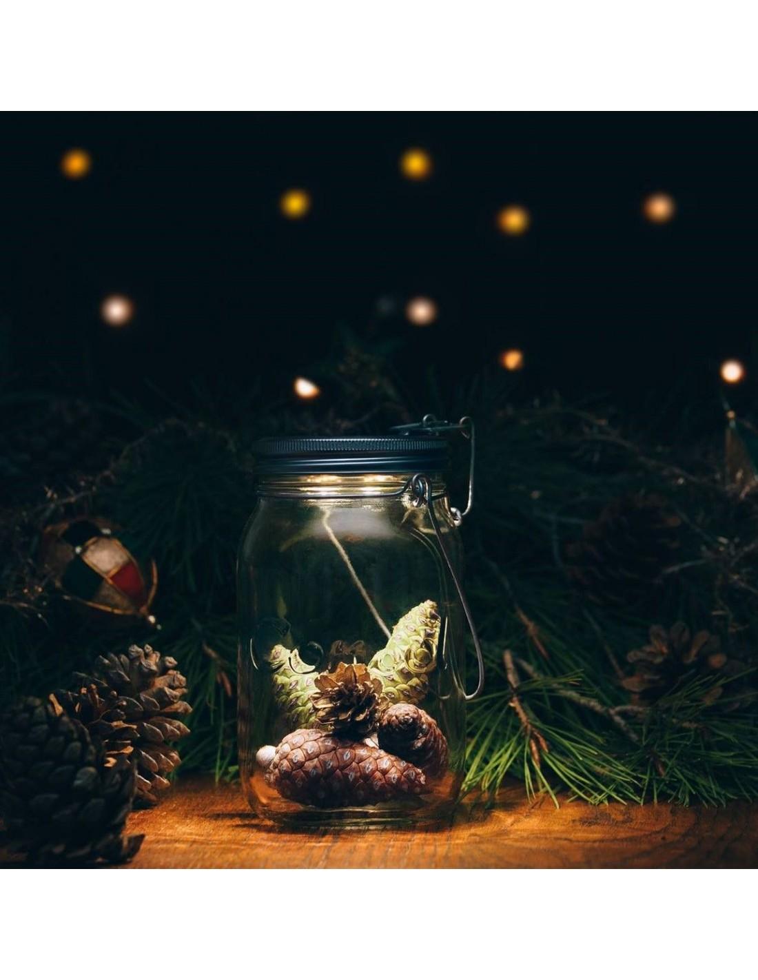 Lampe solaire sans fil SONNENGLAS® Valente Design décor automne