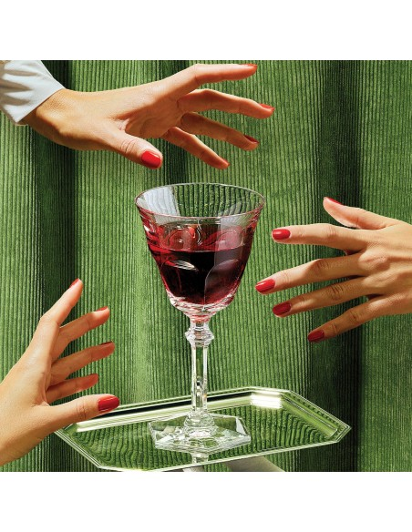 Verre HARCOURT EVE présent dans le coffret wine therapy de la marque Baccarat - Valente Design