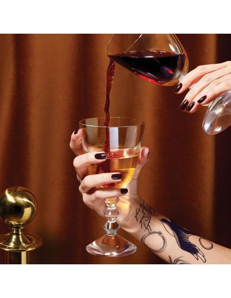 Verre de vin VÉGA présent dans le coffret wine therapy de la marque Baccarat - Valente Design