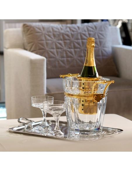 Coupe Narcisse pour champagne de la marque Baccarat - Valente Design