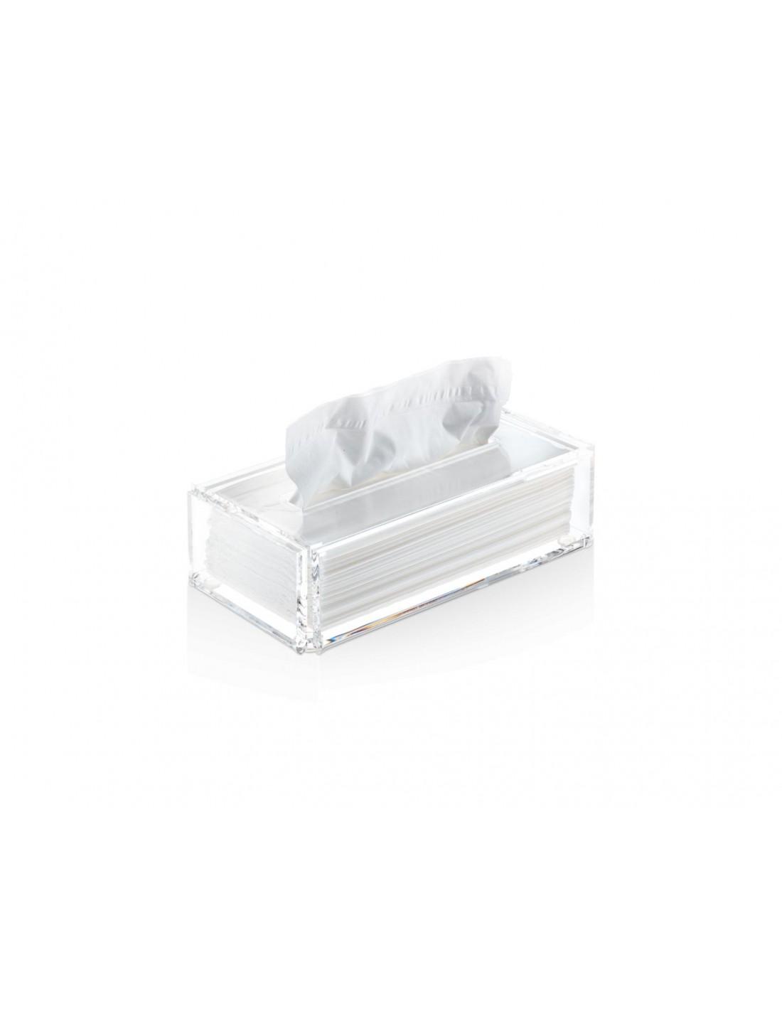 boîte à mouchoirs transparente SKY KB de Decor Walther Valente Design