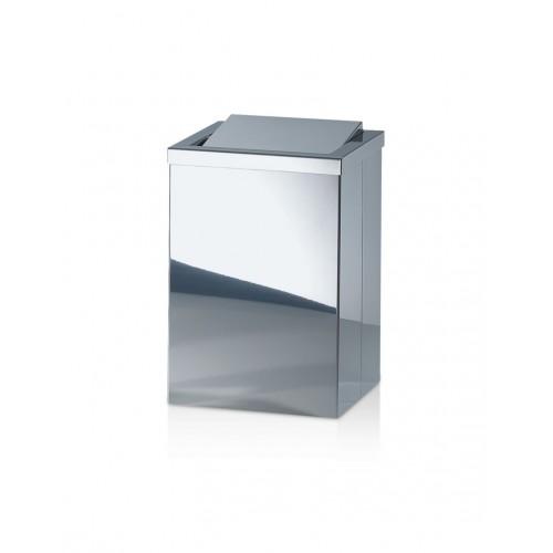 Poubelle carrée avec couvercle basculant DW 113