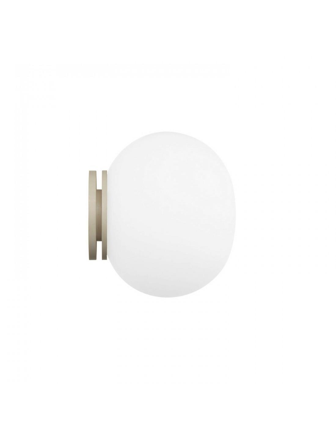 Applique Mini Glo-Ball C/W Miroir par le fabricant de luminaires haut de gamme Flos