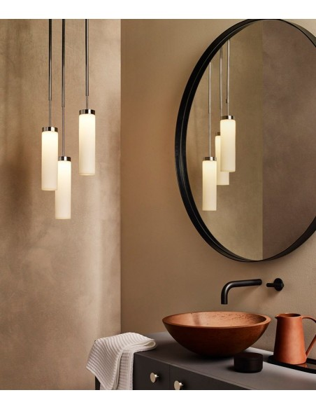 Suspension Kyoto LED pendant chrome Astro lighting - Valente Design mise en scène