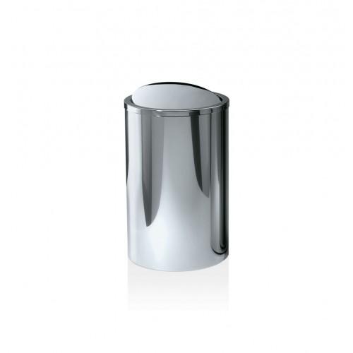 Poubelle ronde avec couvercle basculant DW 121