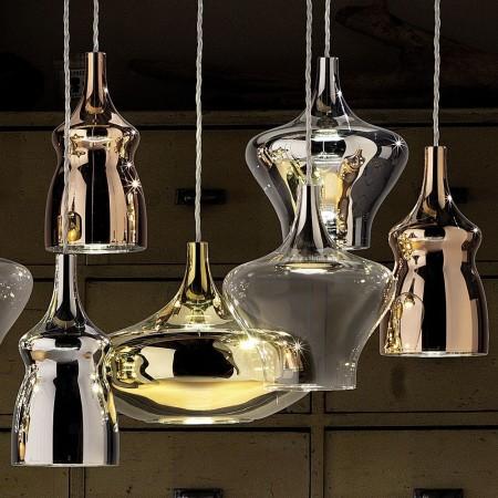 Suspensions Nostalgia Glass de Studio Italia Design Valente Design Dima Loginoff composition