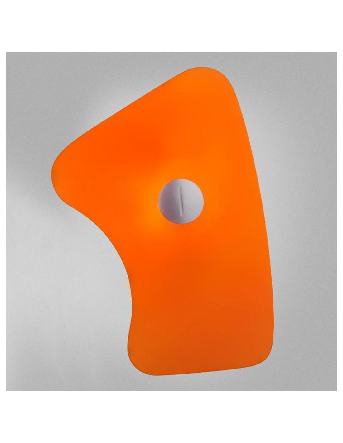 Applique murale bit 5 orange de Ferruccio Laviani pour la marque Foscarini chez Valente Design