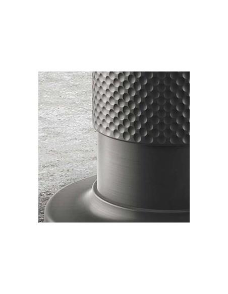 Zoom sur une des finitions de la collection Inciso de la marque Gessi en vente chez Valente Design