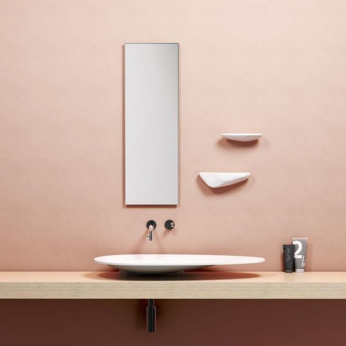 Vasque à poser First pour la marque Clou Valente Design mise en scène
