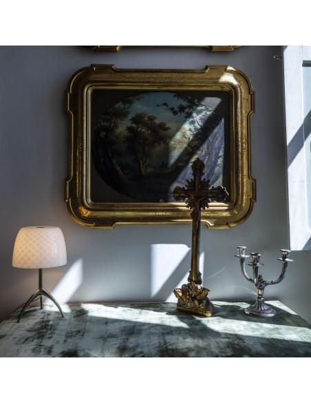 Lampe de table Lumière 30th Foscarini Valente Design sur table