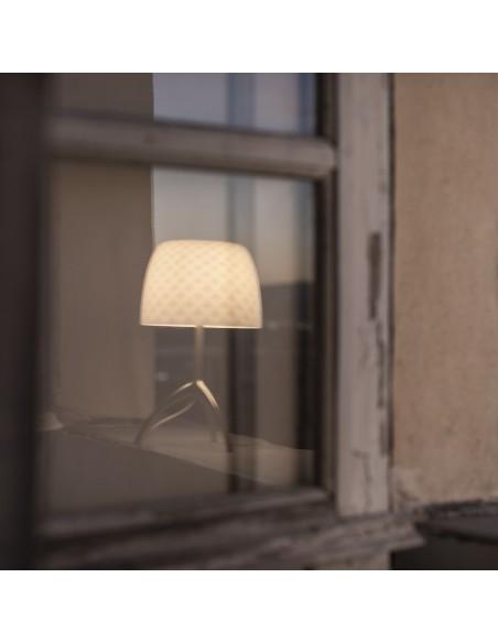 Lampe de table Lumière 30th Foscarini Valente Design reflet