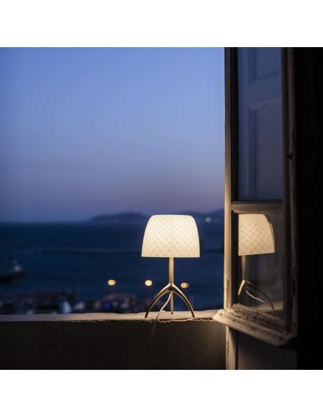 Lampe de table Lumière 30th Foscarini Valente Design crépuscule