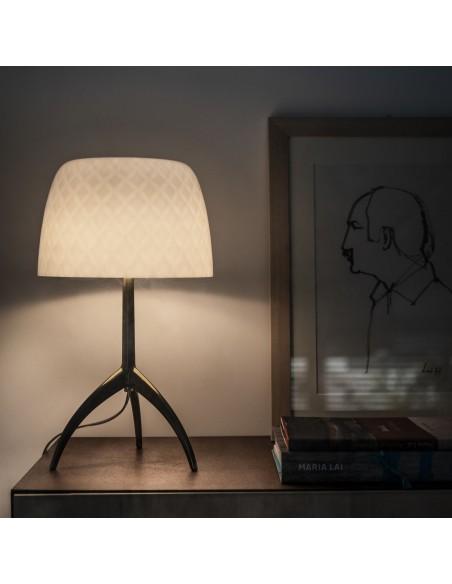 Lampe de table Lumière 30th pastilles Foscarini Valente Design détail