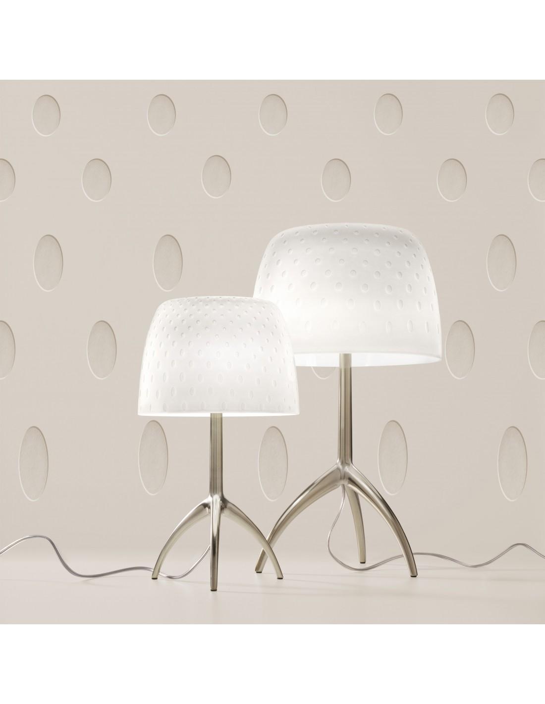 Lampe de table Lumière 30th bulles Piccola et Grande Foscarini Valente Design