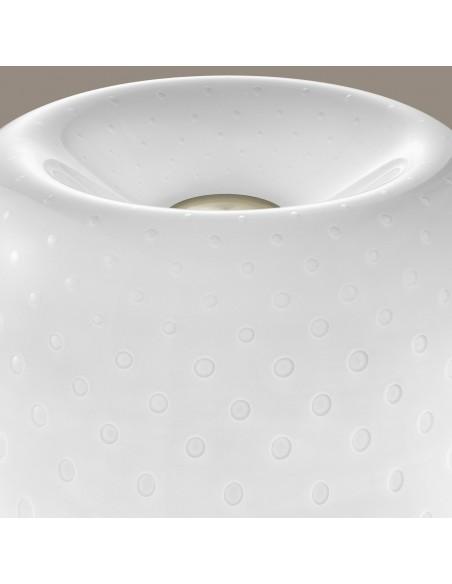 Lampe de table Lumière 30th bulles Foscarini Valente Design détail abat-jour