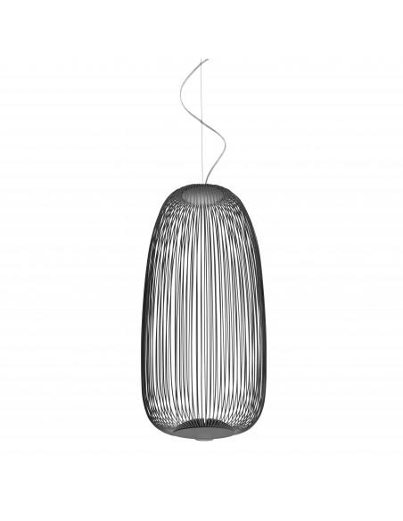 Suspension Spokes 1 graphite Foscarini Valente Design