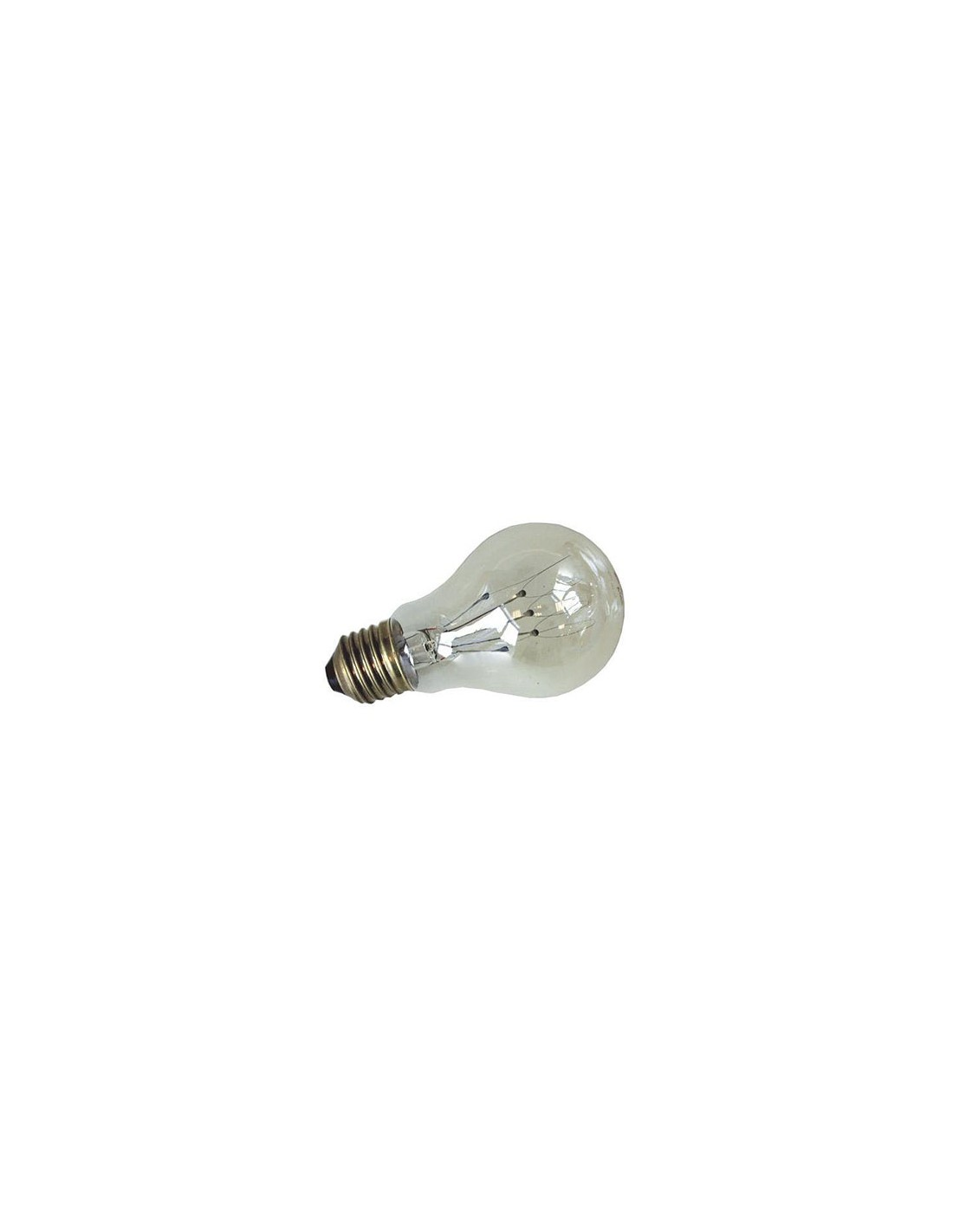 Ampoule E27 60W Filament Carbonne Incandescente