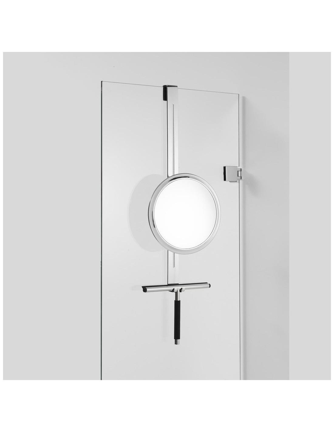 Miroir grossissant Hang Up chromé Decor Walther Valente Design