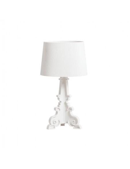 Lampe de table Bourgie blanc mat Kartell Valente Design