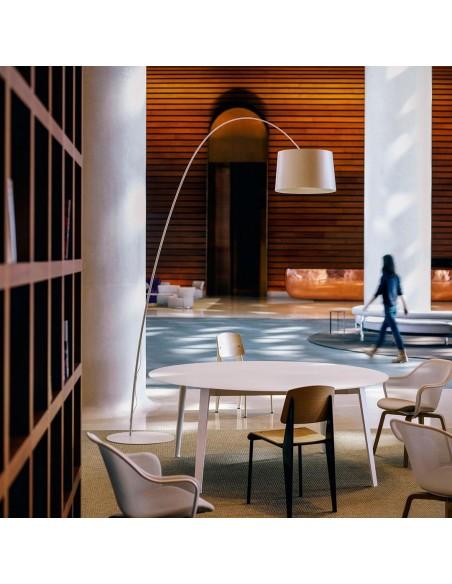 Lampadaire TWIGGY greige Foscarini - Valente Design mise en scène