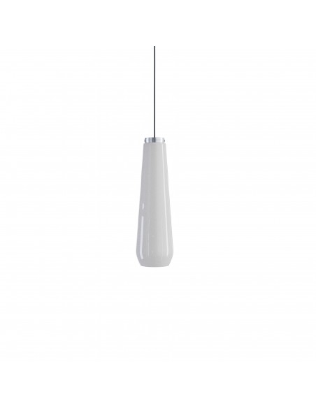 Suspension Glass Drop blanc Diesel Living Lodes Studio Italia Design Valente Design
