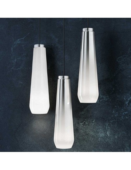 Suspension Glass Drop Diesel Living Lodes Studio Italia Design Valente Design
