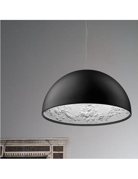 Suspension Skygarden 1 noir mat Flos Valente Design mise en scène
