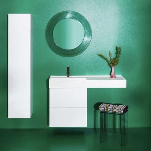 Miroir éclairant ALL SAINTS rond mural - collection KARTELL BY LAUFEN