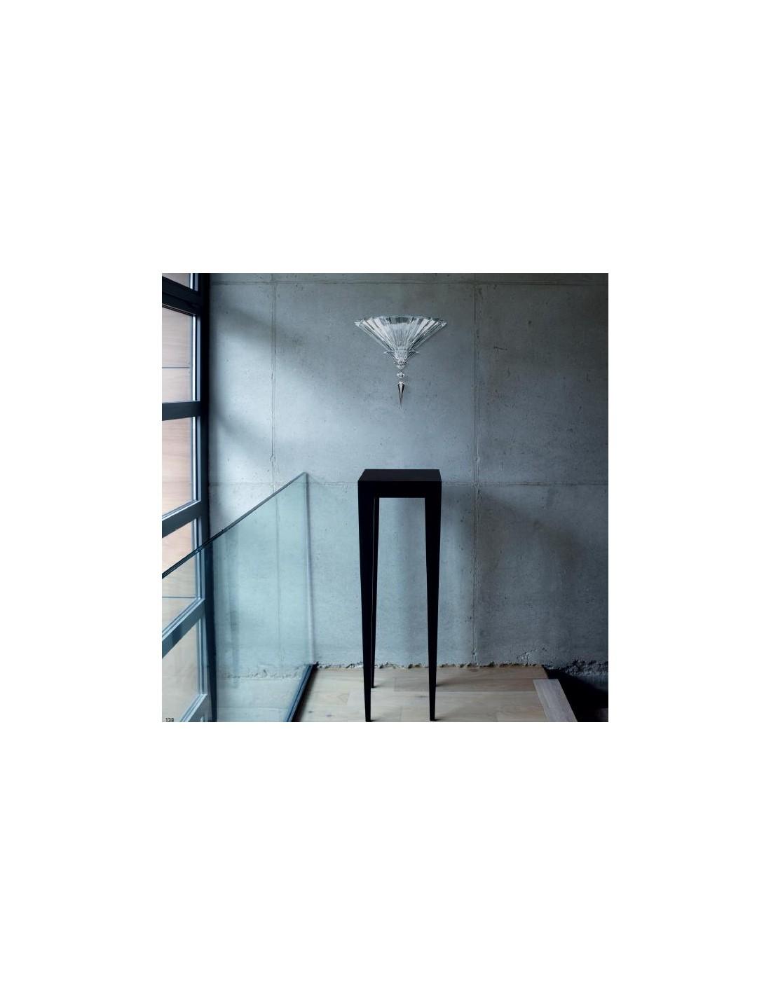 Applique Mille Nuits réalisée en cristal et dans la plus pure tradition Baccarat - Valente Design