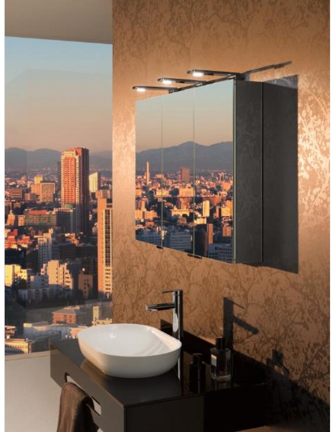 Retrouvez chez Valente Design l'armoire de toilette Royal Universe avec 3 portes de la marque Keuco