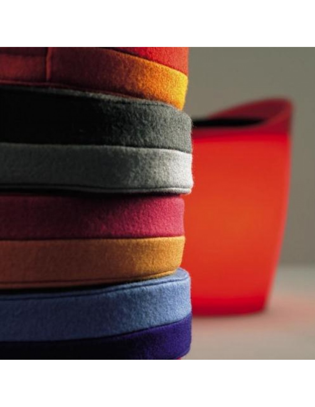 Coussins pour tabouret Otto Authentics - Valente Design