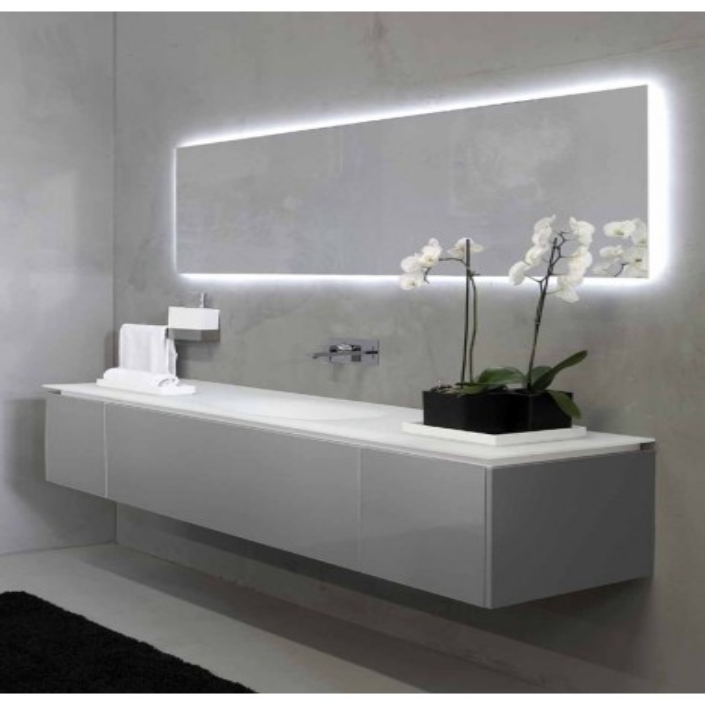 Plan Vasque Salle De Bain Pas Cher.Meuble Salle De Bain Avec Plan Vasque K Forty Rifra Valente Design