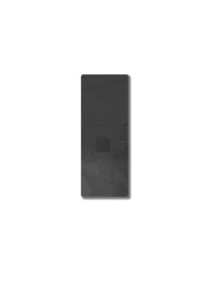 Radiateur Solaris vertical 45 1000W noir brillant de la marque Fondis - Valente Design