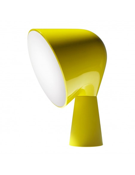 LAMPE DE TABLE BINIC jaune