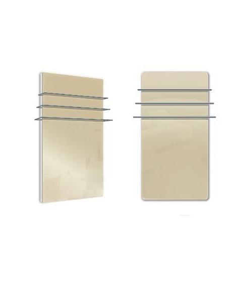 Sèche serviettes Solaris 1200w beige brillant de la marque Fondis - Valente Design