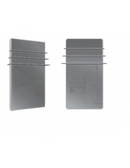 Sèche serviettes Solaris 1200w gris anthracite brillant de la marque Fondis - Valente Design