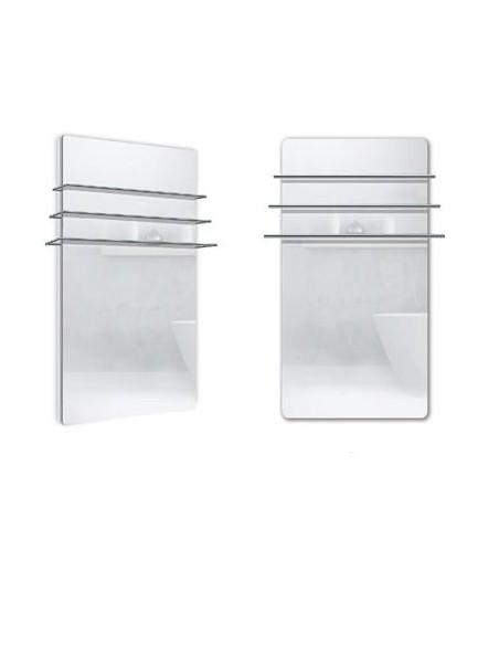 Sèche serviettes Solaris 1200w  effet miroir de la marque Fondis - Valente Design