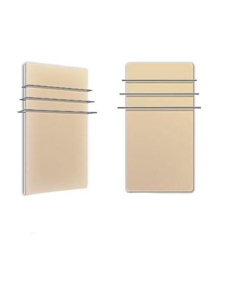 Sèche serviettes Solaris 1200w beige mat  de la marque Fondis - Valente Design